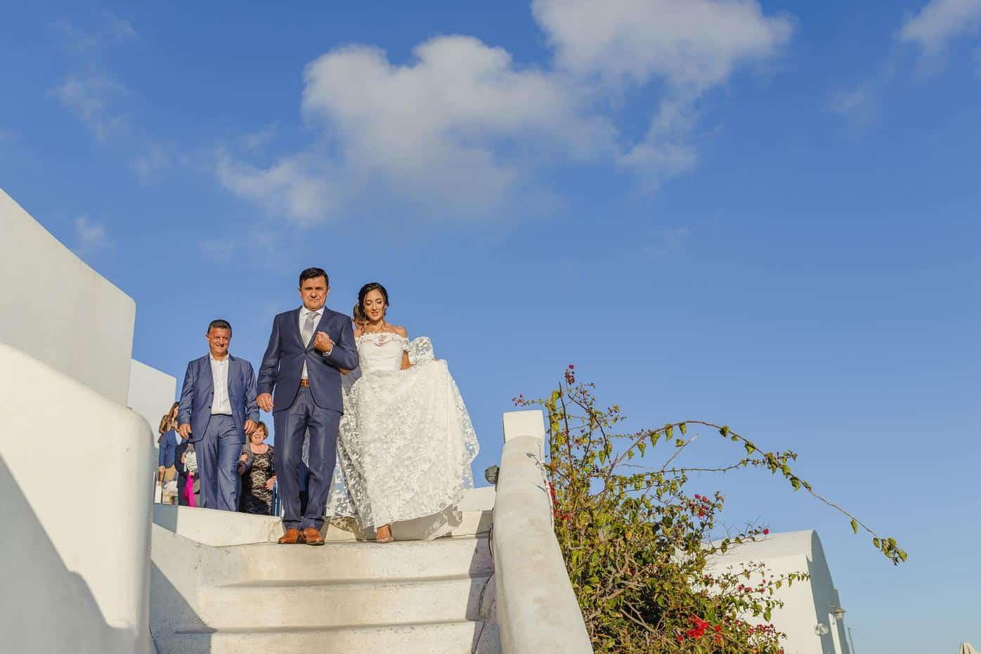 Photographic -  Destination wedding photography 1956 KONSTANTINOS & GEORGIA | WEDDING IN SANTORINI