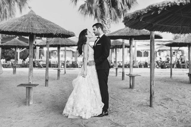 Happy couple on the beach   #photographicgr #weddingphotography #wedding #eleganceweddings #weddingcouples #weddingphotographer #greeceweddings